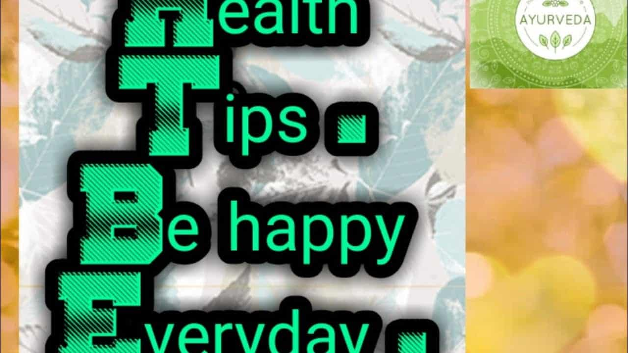 tips-to-live-a-happy-and-healthy-life