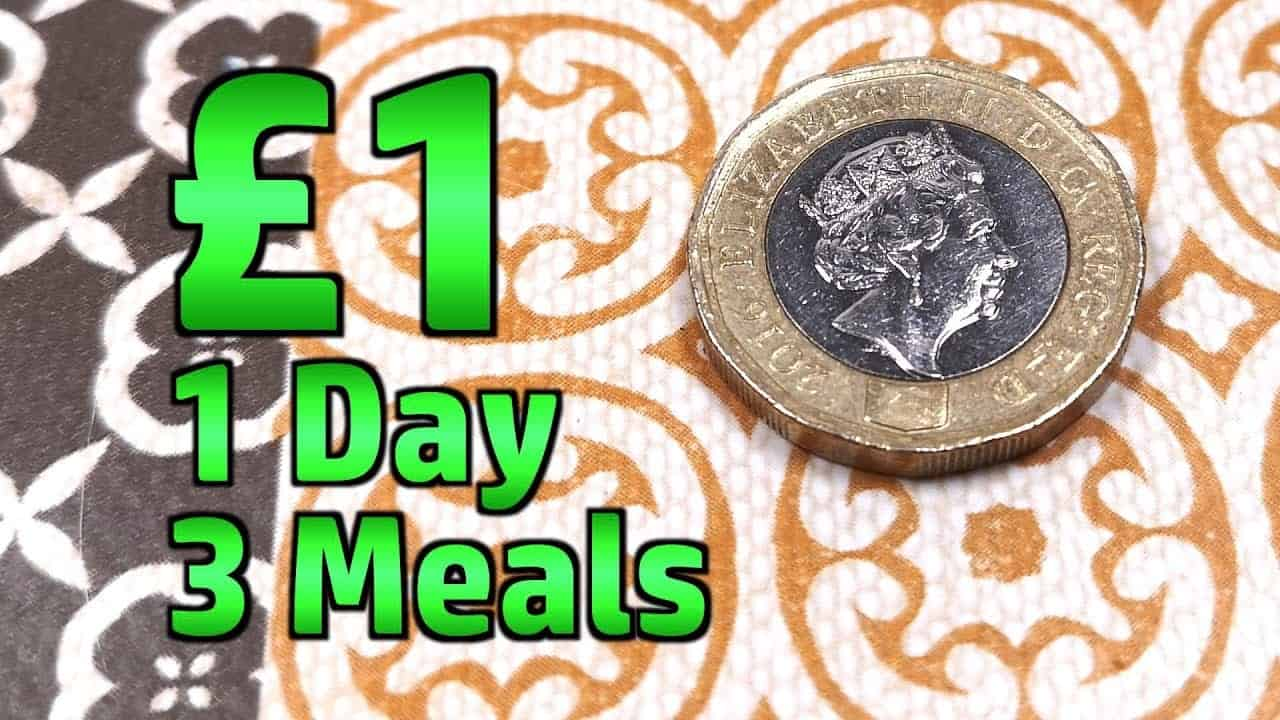 1 Day, 1 Pound, 3 Meals – Limited Budget Food Challenge