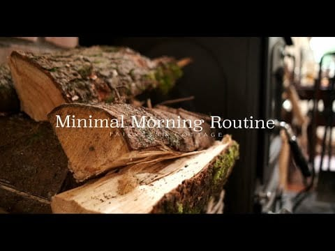 minimal-morning-routine-slow-and-simple
