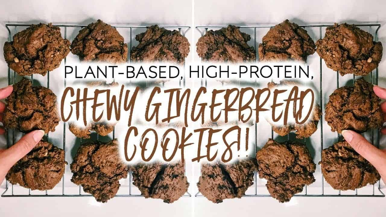 healthy-gingerbread-cookies-chewy-plant-based-vegan-high-protein