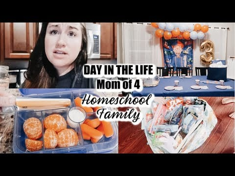 day-in-the-life-of-a-mom-of-4-homeschool-family-quarantine-birthday-mama-approved