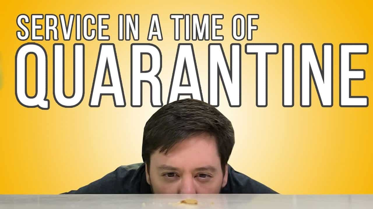 Service in a Time of Quarantine | Relationship Disciplines 02