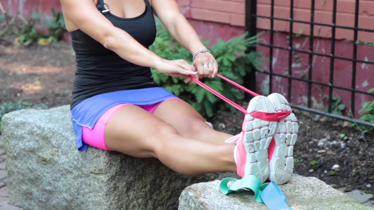 Travel Workout with Exercise Bands – Total Body!