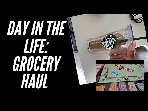 Grocery Haul | Day in my life, Favorite Supplements, Vitamins | Quarantine Edition